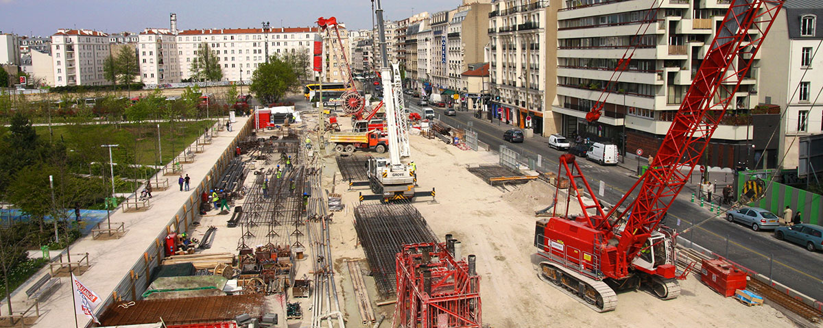 Parking Cardinet - Construction